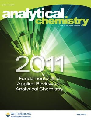 Analytical Chemistry: Volume 83, Issue 12