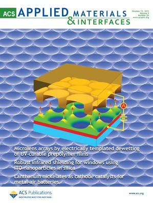 ACS Applied Materials & Interfaces: Volume 5, Issue 20