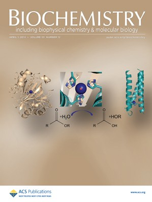 Biochemistry: Volume 53, Issue 12