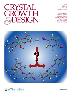 Crystal Growth & Design: Volume 19, Issue 2