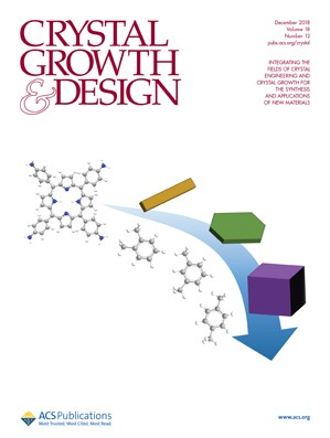 Crystal Growth & Design: Volume 18, Issue 12