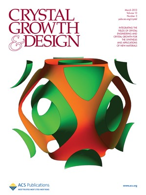 Crystal Growth & Design: Volume 13, Issue 3