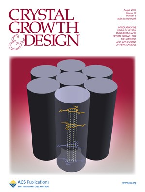 Crystal Growth & Design: Volume 13, Issue 8