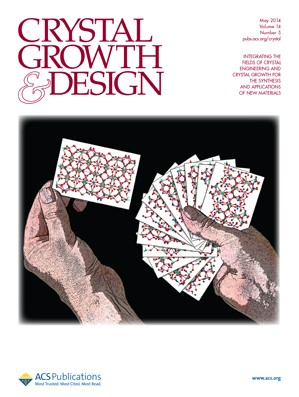 Crystal Growth & Design: Volume 14, Issue 5