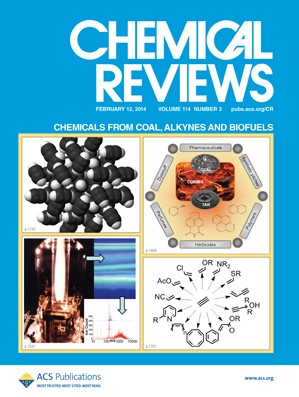 Chemical Reviews: Volume 114, Issue 3