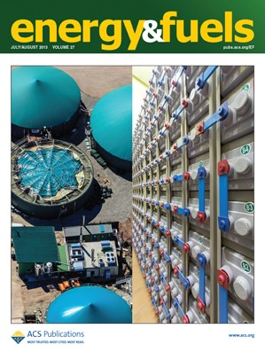 Energy & Fuels: Volume 27, Issue 8