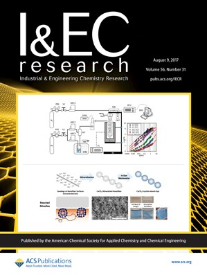Industrial and Engineering Chemistry Research: Volume 56, Issue 31