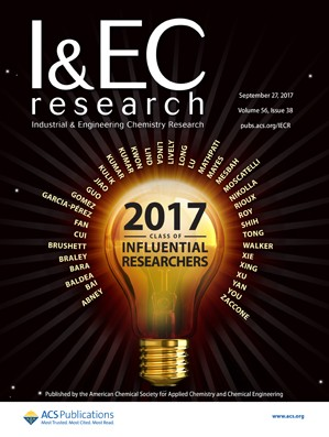 Industrial and Engineering Chemistry Research: Volume 56, Issue 38