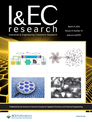 Industrial and Engineering Chemistry Research: Volume 57, Issue 10