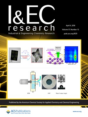 Industrial and Engineering Chemistry Research: Volume 57, Issue 13