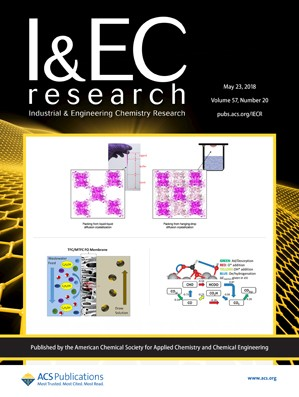 Industrial and Engineering Chemistry Research: Volume 57, Issue 20