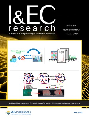 Industrial and Engineering Chemistry Research: Volume 57, Issue 21