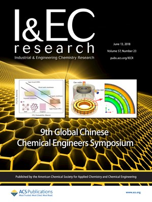 Industrial and Engineering Chemistry Research: Volume 57, Issue 23