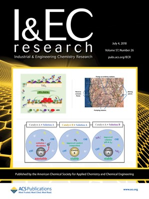 Industrial and Engineering Chemistry Research: Volume 57, Issue 26