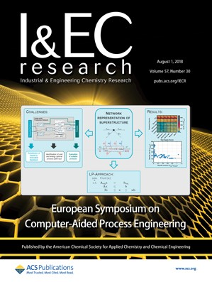 Industrial and Engineering Chemistry Research: Volume 57, Issue 30