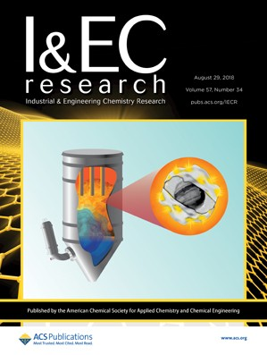 Industrial and Engineering Chemistry Research: Volume 57, Issue 34