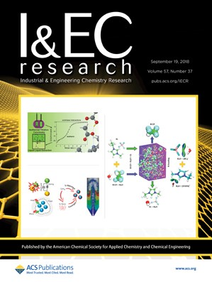 Industrial and Engineering Chemistry Research: Volume 57, Issue 37