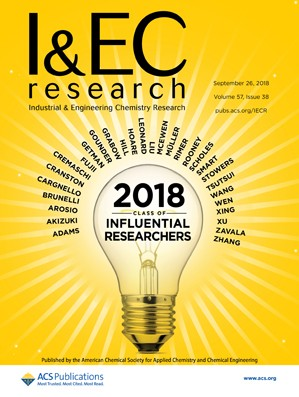 Industrial and Engineering Chemistry Research: Volume 57, Issue 38