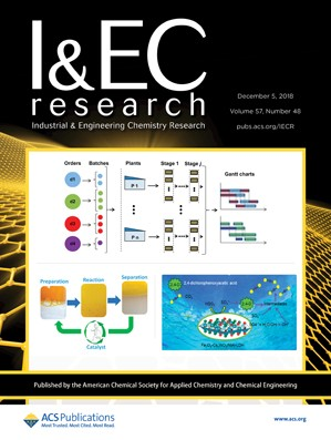 Industrial and Engineering Chemistry Research: Volume 57, Issue 48