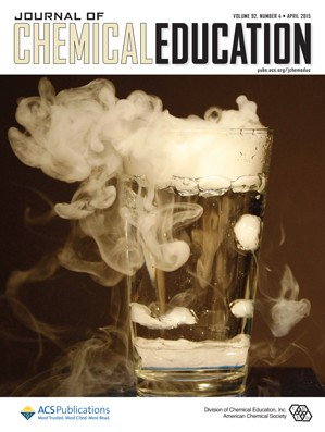 Journal of Chemical Education: Volume 92, Issue 4