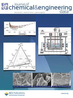 Journal of Chemical & Engineering Data: Volume 57, Issue 2