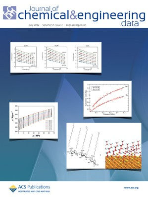 Journal of Chemical & Engineering Data: Volume 57, Issue 7