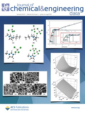 Journal of Chemical & Engineering Data: Volume 58, Issue 1