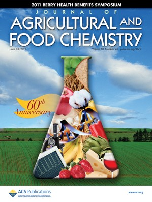 Journal of Agricultural and Food Chemistry: Volume 60, Issue 23