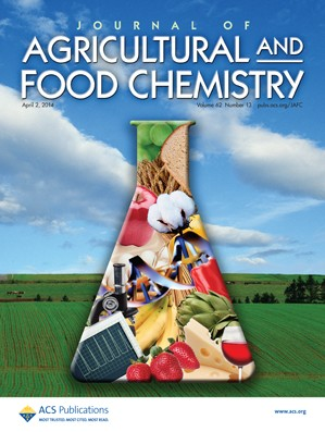 Journal of Agricultural and Food Chemistry: Volume 62, Issue 13