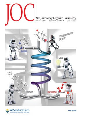 Journal of Organic Chemistry: Volume 83, Issue 15