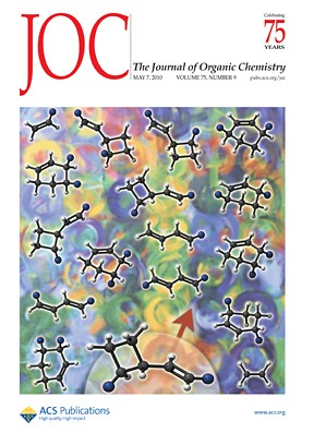 The Journal of Organic Chemistry: Volume 75, Issue 9