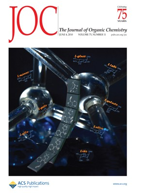 The Journal of Organic Chemistry: Volume 75, Issue 11
