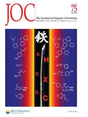 The Journal of Organic Chemistry: Volume 75, Issue 18
