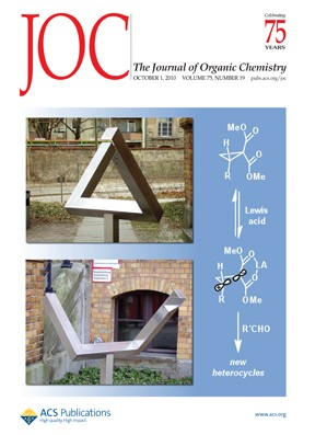 The Journal of Organic Chemistry: Volume 75, Issue 19