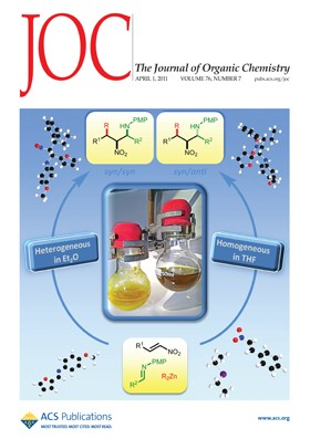 The Journal of Organic Chemistry: Volume 76, Issue 7