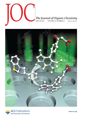 The Journal of Organic Chemistry: Volume 76, Issue 10