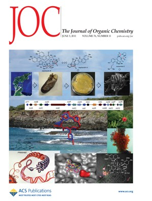 The Journal of Organic Chemistry: Volume 76, Issue 11
