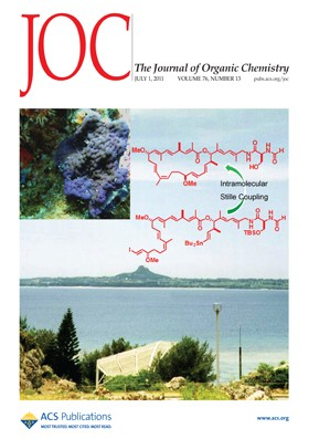 The Journal of Organic Chemistry: Volume 76, Issue 13