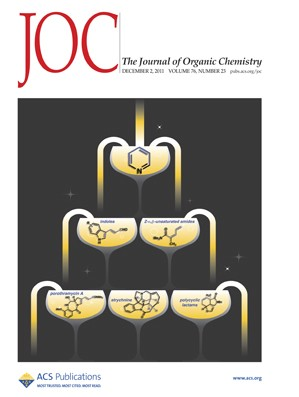 The Journal of Organic Chemistry: Volume 76, Issue 23