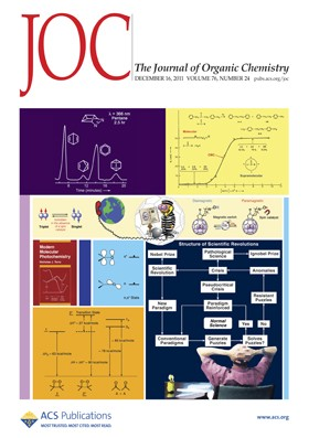 The Journal of Organic Chemistry: Volume 76, Issue 24