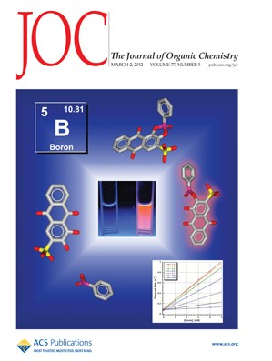 The Journal of Organic Chemistry: Volume 77, Issue 5