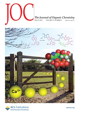 The Journal of Organic Chemistry: Volume 77, Issue 9