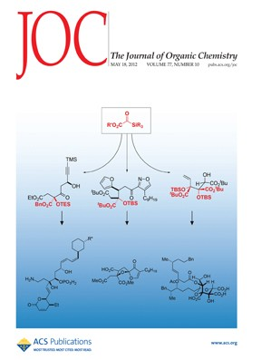 The Journal of Organic Chemistry: Volume 77, Issue 10