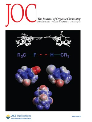 The Journal of Organic Chemistry: Volume 79, Issue 1