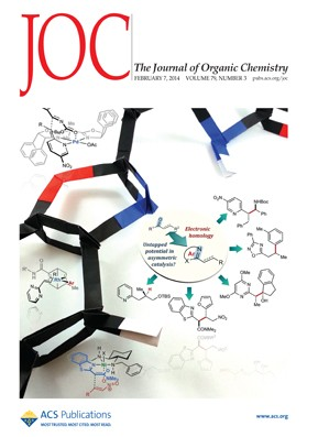The Journal of Organic Chemistry: Volume 79, Issue 3