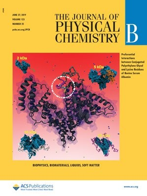 Journal of Physical Chemistry B: Volume 123, Issue 25