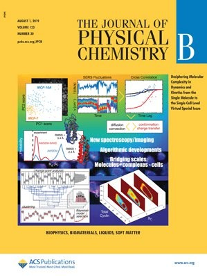 Journal of Physical Chemistry B: Volume 123, Issue 30