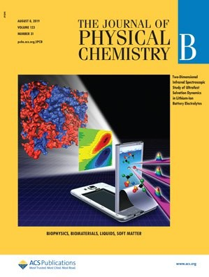 Journal of Physical Chemistry B: Volume 123, Issue 31