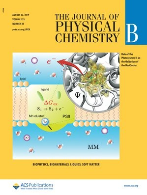 Journal of Physical Chemistry B: Volume 123, Issue 33
