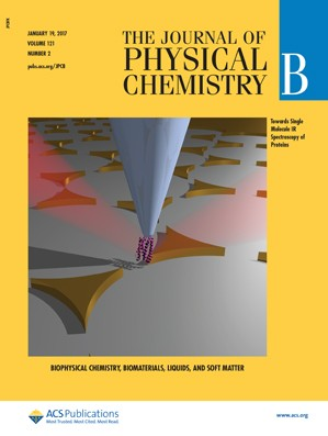 The Journal of Physical Chemistry B: Volume 121, Issue 2